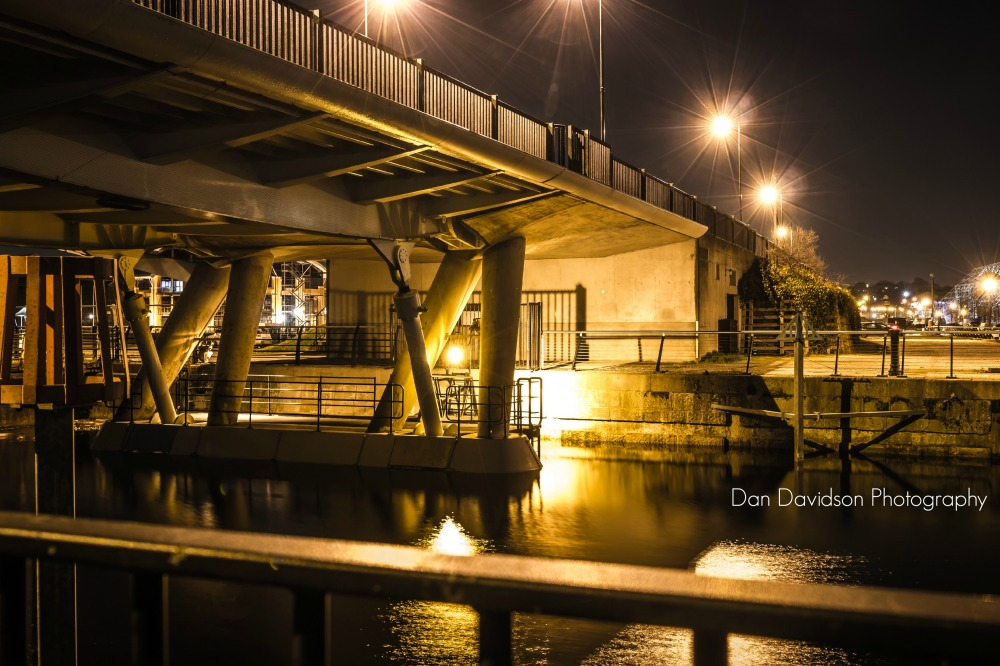 St Mary's Bridge at night