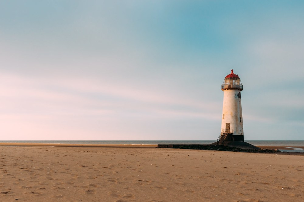 Point of Ayr Lighthouse, Talacre Beach